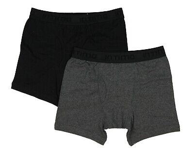 Intimo Mens 2 Pack Boxer Briefs Underwear
