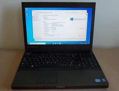 Dell Precision M4600 GAMING Laptop i7 8GB RAM FHD NVIDIA 128GB SSD  (L108)