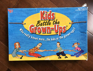Kids Battle the Grown-Ups Board Game