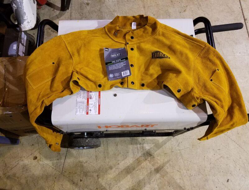 IRONCAT Heat Resistant Split Cowhide Leather Welding Cape XXX-Large