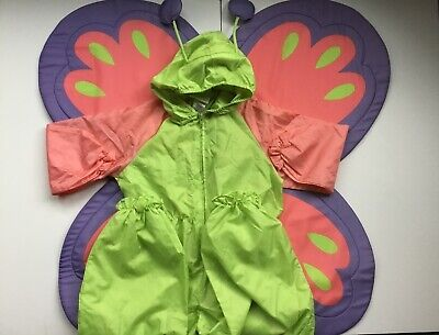 Butterfly Costumes For Babies (American Girl Bitty baby Butterfly Retired Costume For Girls size medium 3 4)