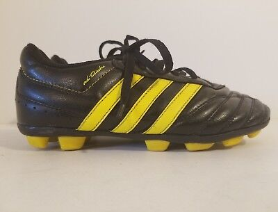 f997b1ac7 ADIDAS Adi Questra Youth Soccer Cleats Size 2 G18640 Black And Yellow
