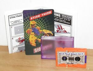 Transformers Exclusive KFC Sting Thing cassette MP G1 G2 Action Master
