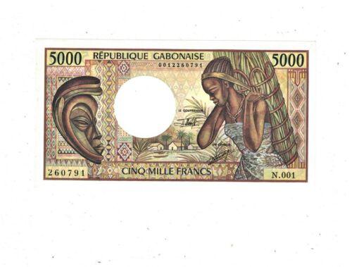 Gabon 5000 Francs P6.b UNC PB2