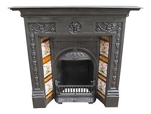 Cast Iron Fireplaces Ebay