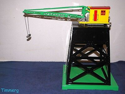 Lionel Corporation MTH 11-90068 Mechanical Operating Industrial Crane **