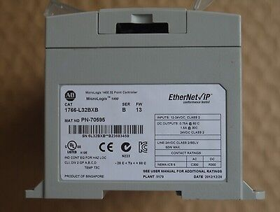Ab Allen Bradley Micrologix 1400 Plc 1766 L32bxb Ser B Fw 13 Used Ebay