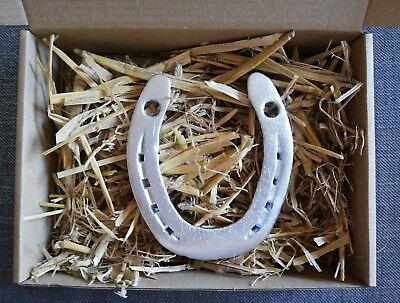 Hufeisen Glücksbringer Glück Pferde Geschenk silber Hochzeit
