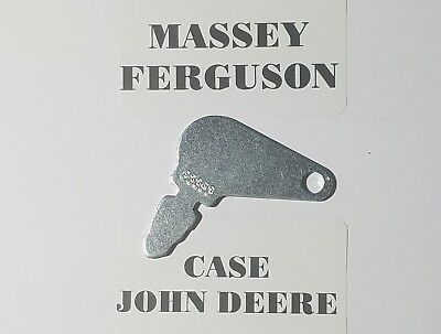 2 Case Massey Ferguson John Deeretractor Ignition Key 83353 Fast Shipping