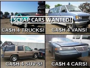 Sell your vehicles today up to $300