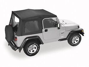 Jeep-TJ-Wrangler-Soft-Top-1996-06-Black-In-stock-Australia-FREE-delivery