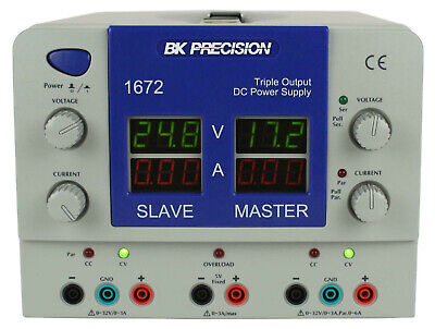 Bk Precision 1672 Triple Output 2 32v3a 15v3a Dc Power Supply