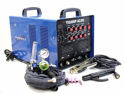Tig200p 200a Tig Mma Pulse Dc Inverter Welding Machine Stainless Aluminum Welder