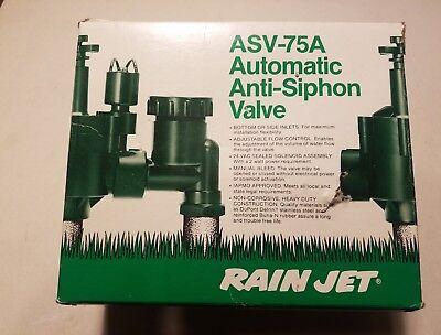 Nos Rain Jet Sprinkler System ASV-75A  Automatic Anti-Siphon Valve