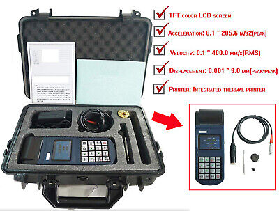Split Type Vibration Meter Vibrometer With Built-in Thermal Printer Yv400
