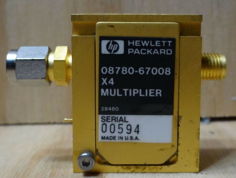 HP MODEL 08780-67008 X4 MULTIPLIER