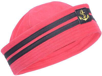 Retro Anchor SAILOR Uniform Pin Up MATROSEN Hütchen HUT Rockabilly ()