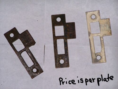Antique Eastlake Era Mortise Door Strikes