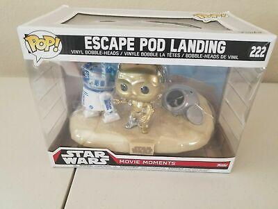 Funko Pop Star Wars movie moments Escape Pod Landing # 222
