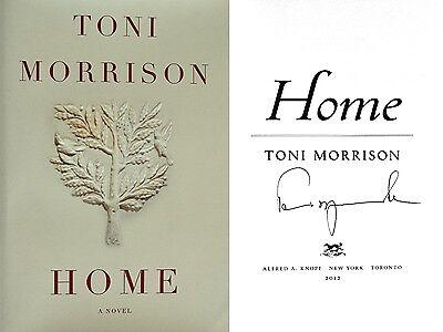 Toni Morrison Signedhome1st/1stnobel Prize-winning Author + Photobeautiful