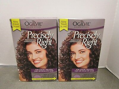 2 OGILVIE PRECISELY RIGHT CONDITIONING PERM COLOR TREATED, THIN DELICATE MM 7486