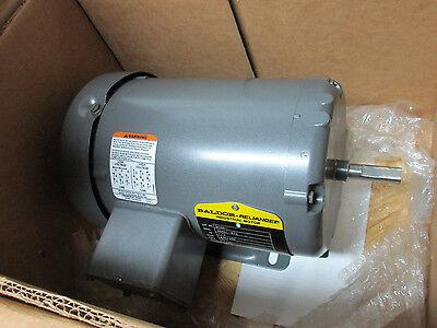 Baldor Motor M3461 12 Hp 1725 Rpm 3ph Fr 48 New