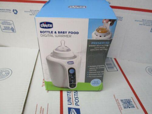 CHICCO BOTTLE & BABY FOOD DIGITAL WARMER MULTIPLE PROGRAMMING OPTIONS NEW