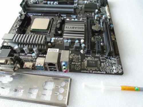 AMD GIGABYTE GA-78LMT-USB3 Rev.5.0 Motherboard Combo w/  FX 4100  3.6 - 3.8GHz