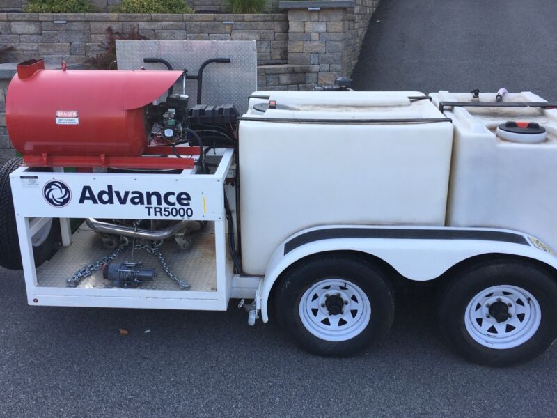 Power Washing Trailer with Reclaim- Advance TR5000