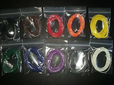 24 Awg Gauge Stranded Hook Up Wire Kit 10 Ft Ea 10 Colors Ul1007 300 Volt