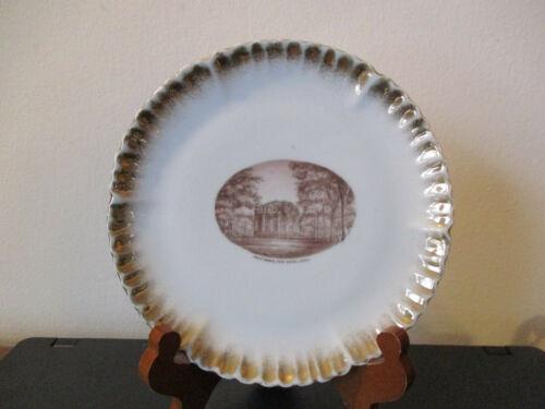 Circa 1910 Souvenir Porcelain Dish State House New Haven Connecticut *