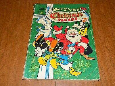 Walt Disney's Christmas Parade #2 (1950) Carl Barks! 132 Pages, Donald Duck, WOW