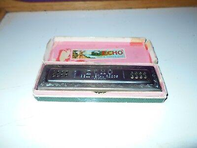 Hohner The Echo Harp 56/96 Keys C+G Double Side Harmonica Tremolo_Great_Shape ! , used for sale  Shelton