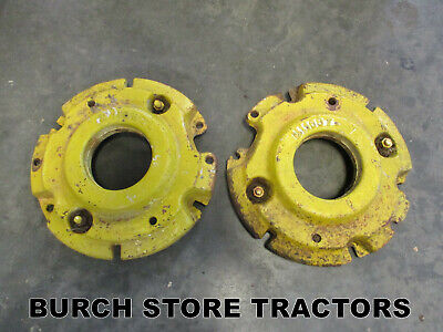 Front Wheel Weights For John Deere M Mt Mi 320 40 And 420 Tractors M1168t