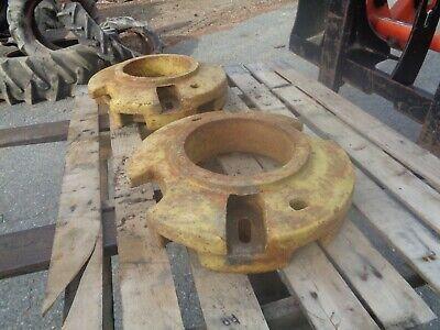 John Deere A B G. Pair Of Rear Wheel Weights. B2628r