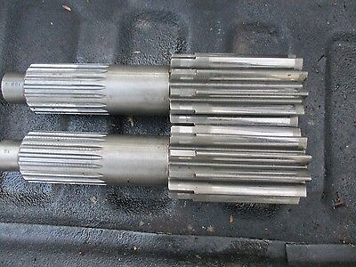 1975 Massey Ferguson 1155 Farm Tractor Bull Pinion Brake Shafts Free Shipping