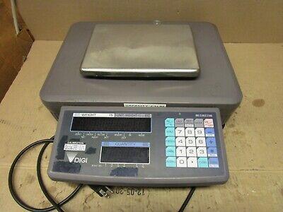Digi Dc-190 Digital Counting Scale W 2.5lbs Weighing Platform 117v 20w .25a