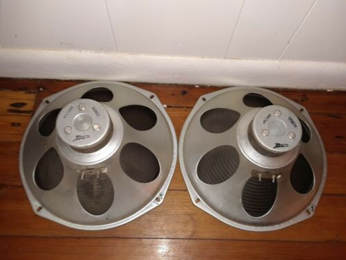 ZENITH WOOFER / SPEAKERS 49CZ860 FULL RANGE OPEN BAFFLE ALNICO TESTED!
