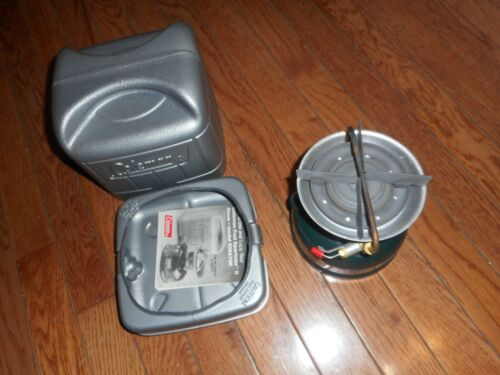 COLEMAN 508A STOVE WITH CASE