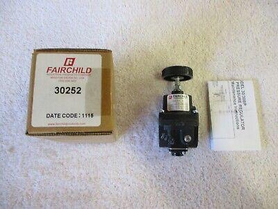Nib Fairchild Pressure Regulator  30252