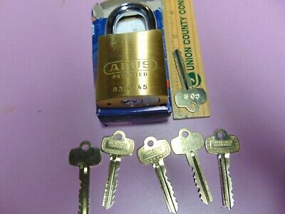 1 New Abus Ic Best Cyl. With H Core And 1 Core And 5 Keys Padlock Locksmith