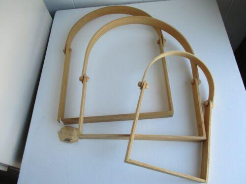 """D"" Swing Handles For Basket Weaving  (3)"