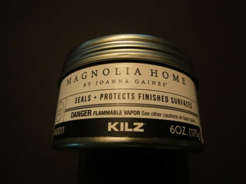 Magnolia Home by Joanna Gaines Clear Wax 6oz. Protects Finished Surfaces KILZ
