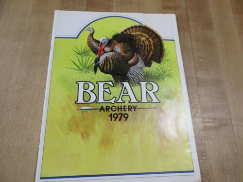 Bear Archery 1979    Catalog Brochure  Original   (w2)