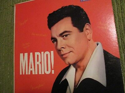 33RPM Vintage Vinyl MARIO LANZA At His Best