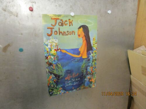 JACK JOHNSON Fillmore Denver 2002 SHOW POSTER Brushfire Fairytales BILL GRAHAM