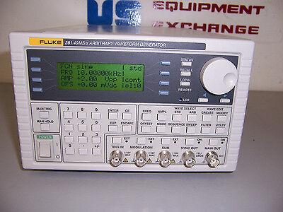 9151 Fluke 281 2423135  40 Mss Arbitrary Waveform Generator