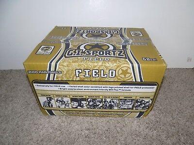 G.I. Sportz Field 2000 Paintballs .68 Cal