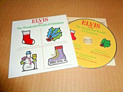 Elvis Presley 2019 Graceland President Fan Club Promo CD. Insert, Mint.