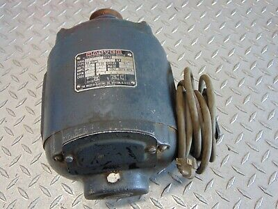 The Master Electric Co. 105661 13hp Ac Motor 115230v 1-phase Type Ra